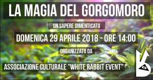 gorgomoro - white rabbit event -biella -tour -tracking - gita -e vento - aglio orsino -shirin yoku