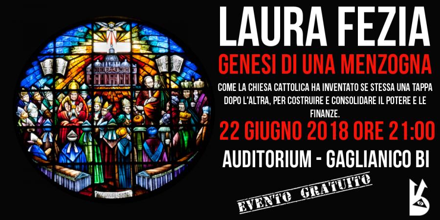 laura fezia - conferenza -white rabbit event -biella -gaglianico -la fabbrica dei santi - l'inganno della croce