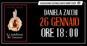 daniela zacchi -rosacroce-maledizione -conferenza- biella -la maledizione dei rosacroce -white rabbit event