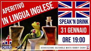 aperilingua - inglese -lingua inglese -corso -biella -irene belloni -white rabbit event