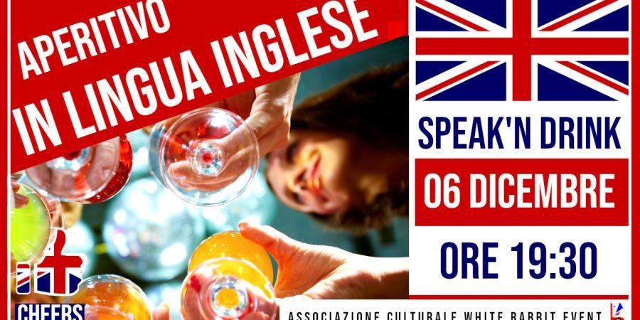 inglese - lingua inglese -aperitivo -aperitivo in lingua -aperitivo in lingua inglese -lingua inglese - white rabbit event