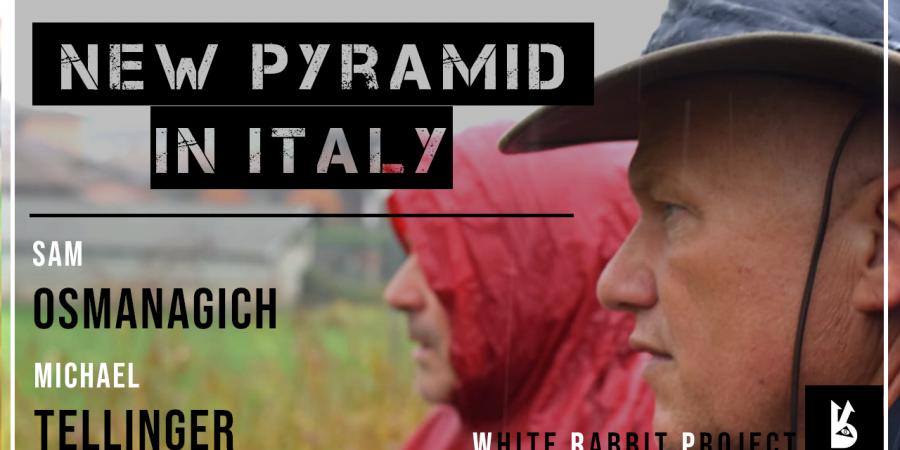 michael tellinger - sam osmanagich -pyramid -italy -piramide -italia -piramidi bosnia - visoko