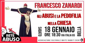 pedofilia-biella-chiesa-white rabbit event -rete l'abuso -zanardi -preti pedofili -clero -madonna nera-vescovo -oropa- conferenza