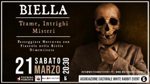 biella - tour -passeggiata- mistero -white rabbit event -mistero -associazione culturale -biella eventi