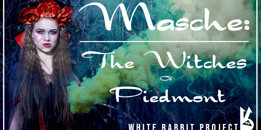 masche - streghe -piemonte -white rabbit event -video - val di susa -wicca -stregoneria -witch