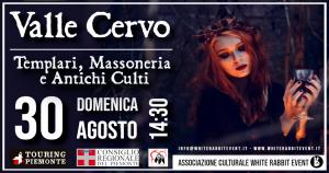 vallecervo-campiglia cervo-white rabbit event-biella-mistero-escursione-natura-massoneria-templari-celti