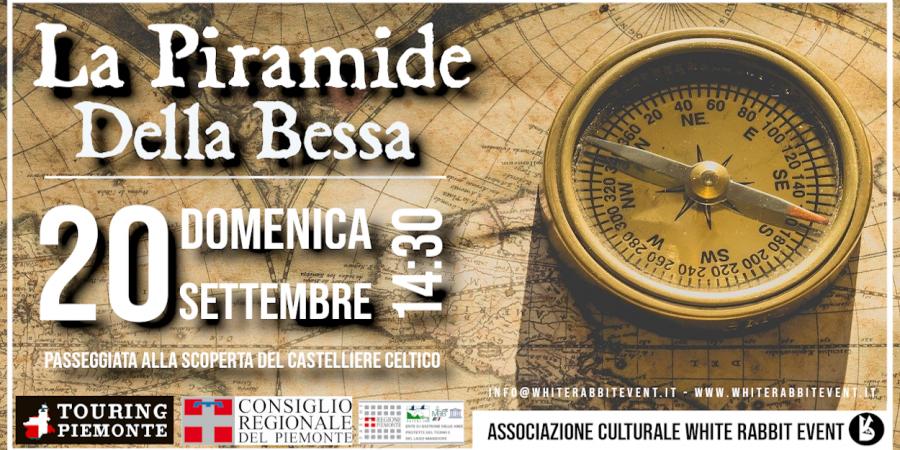 piramide-bessa-archeologia-misteri-biella-mongrando -white rabbit event -escursione - passeggiata -castelliere