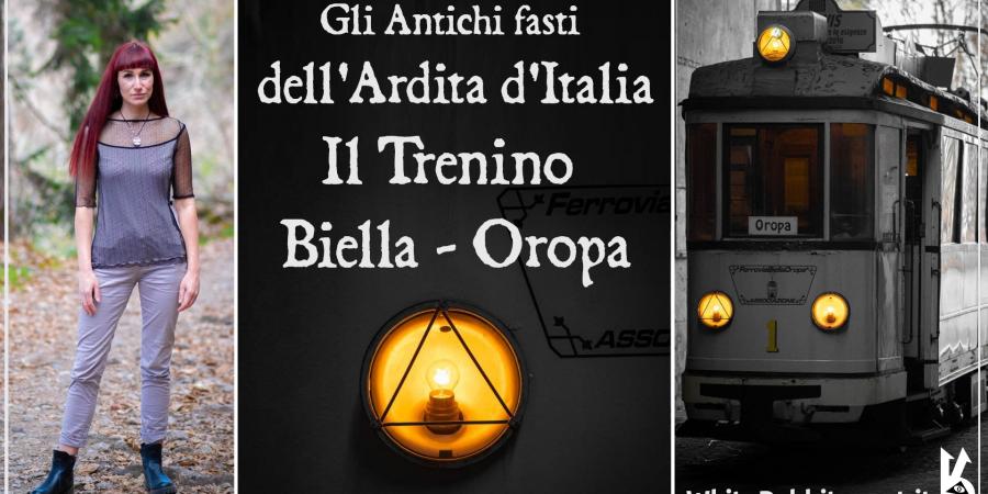 trenino - biella -oropa -white rabbit event