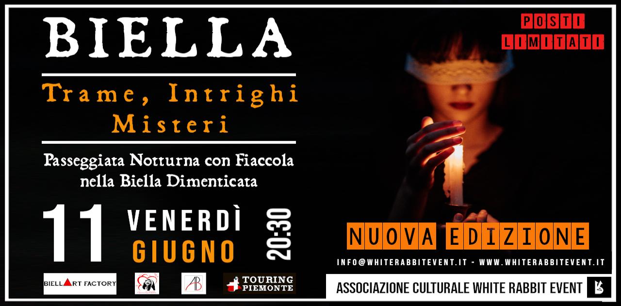 biella - halloween -party -tour -fiaccola -white rabbit event -esoterismo