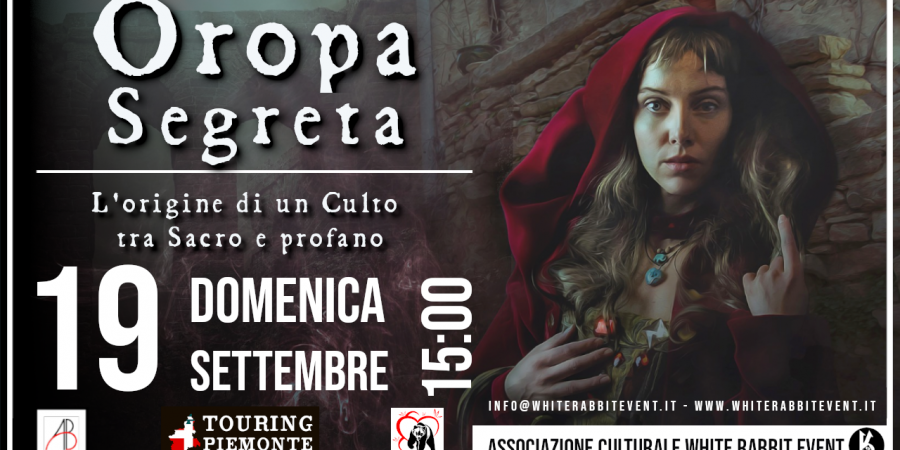 OROPA- BIELLA -WHITE RABBIT EVENT -SANTUARIO