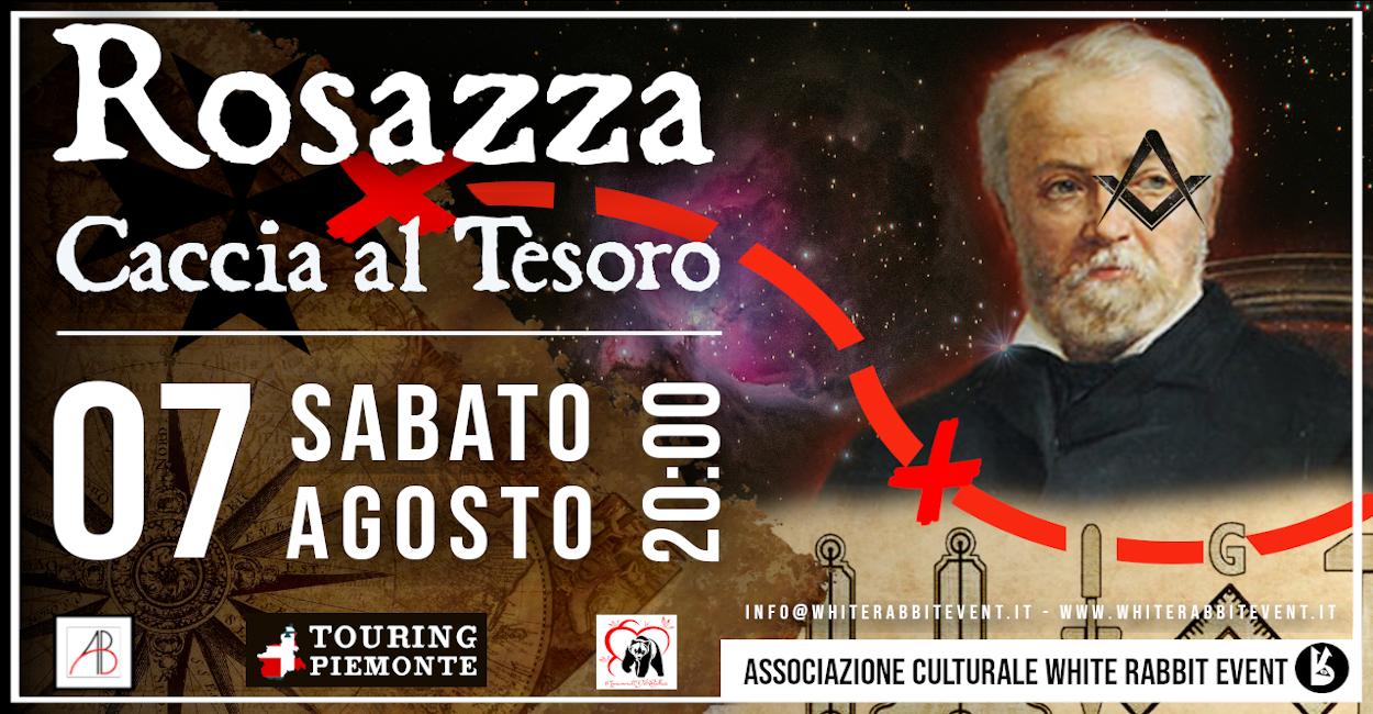 rosazza- caccia al tesoro -biella -massoneria -spiritismo - fantasmi - white rabbit event - piemonte